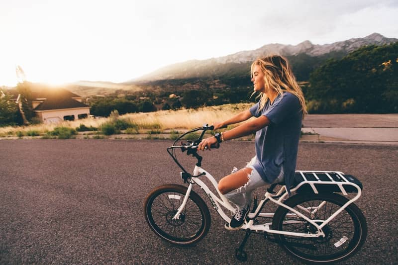 Five things that are good for you and good for the planet - Bike Riding