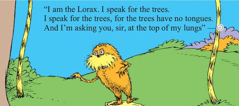 Eco Books For Kids - The Lorax by Dr Seuss