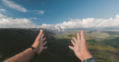 A Drones' Eye View For Humanity