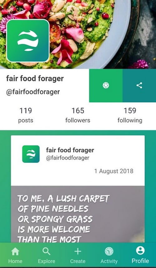 Sustainable Food Apps - Fair Food Forager