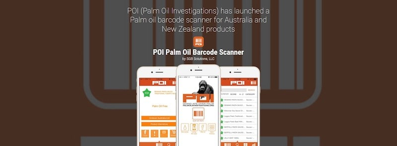 Sustainable Food Apps - Palm Oil Investigations Barcode Scanner