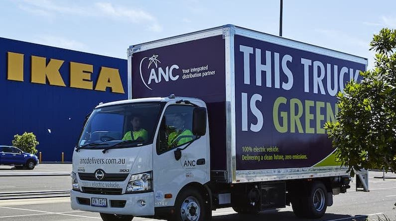 Visionary Fleet: IKEA Goods To Arrive To NSW Homes By Electric Vehicle