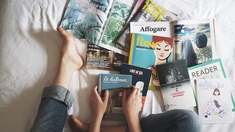 Declutter Kondo Style Without Harming The Planet - Books Magazines