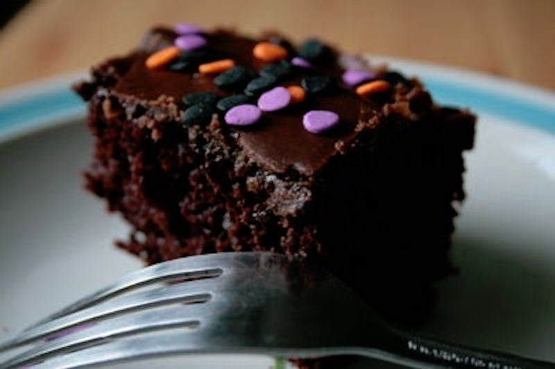 Kids Party Ideas That Won't Cost The Earth - Vegan Chocolate Cake