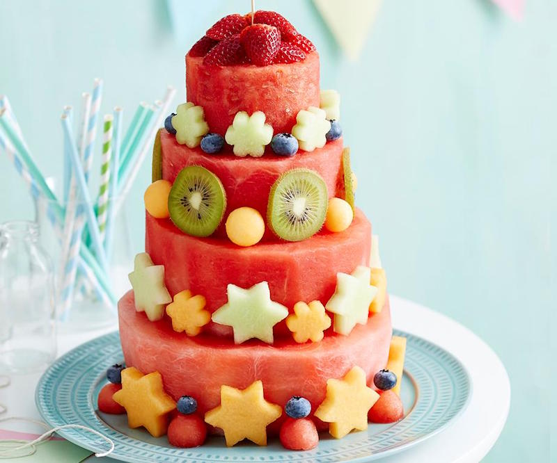 Kids Party Ideas That Won't Cost The Earth - Watermelon Cake